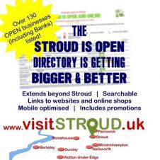 Stroud is open for business